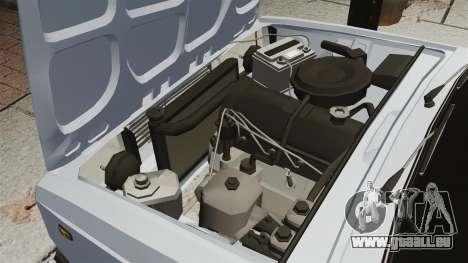 VAZ-2107 2011 DAG für GTA 4 Innenansicht