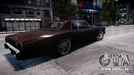 Buccaner Tuning für GTA 4 linke Ansicht
