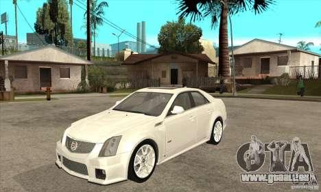 Cadillac CTS-V 2009 v2.0 für GTA San Andreas