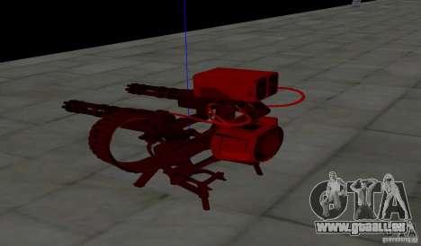 Tourelle de Team Fortress 2 pour GTA San Andreas quatrième écran