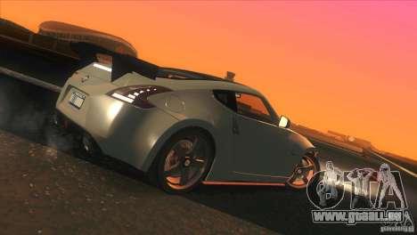 Nissan 370Z Drift 2009 V1.0 pour GTA San Andreas roue