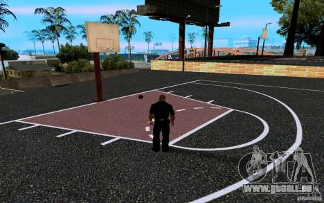 Dem neuen Basketballplatz für GTA San Andreas sechsten Screenshot