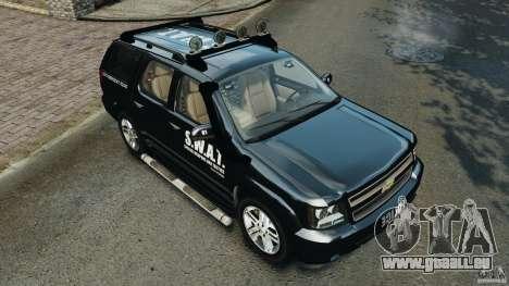 Chevrolet Tahoe LCPD SWAT für GTA 4-Motor