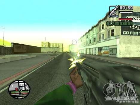 Erste Person (First-Person-mod) für GTA San Andreas achten Screenshot