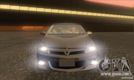 Opel Astra GTC DIM v1.0 pour GTA San Andreas vue de dessous