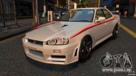 Nissan Skyline ER34 Nismo Z Tune für GTA 4
