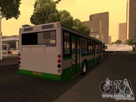 LIAZ 5292.20 pour GTA San Andreas sur la vue arrière gauche