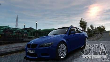 BMW M3 GTS Final pour GTA 4 est un droit