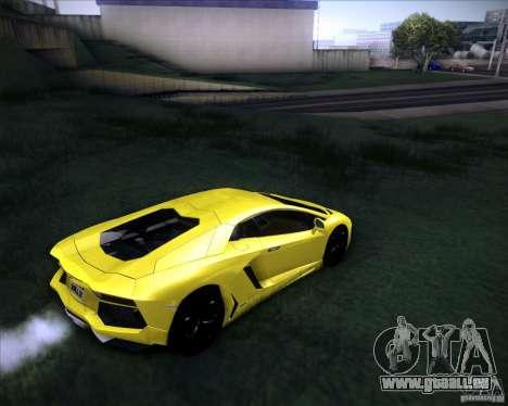 Lamborghini Aventador für GTA San Andreas linke Ansicht