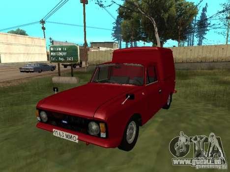 IZH 2715 1982 pour GTA San Andreas