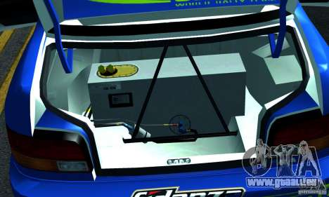 Subaru Impreza 1995 World Rally ChampionShip für GTA San Andreas Seitenansicht