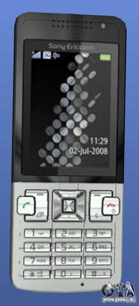 Handy Sony Ericsson T700 für GTA 4