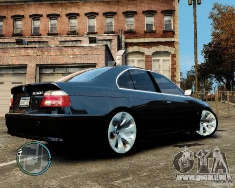 BMW 530I E39 [Final] pour GTA 4 Vue arrière de la gauche