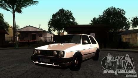 VW Golf 2 pour GTA San Andreas