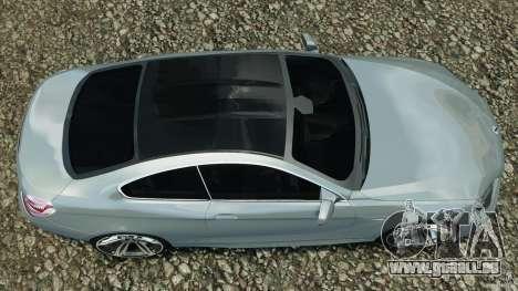 BMW M6 Coupe F12 2013 v1.0 pour GTA 4 est un droit