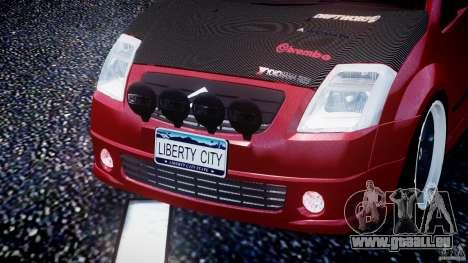 Citroen C2 Light Tuning [Beta] pour GTA 4 Salon