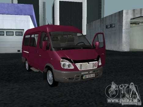 GAZ 2217 Sobol pour GTA San Andreas