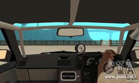 Toyota Sprinter pour GTA San Andreas vue arrière