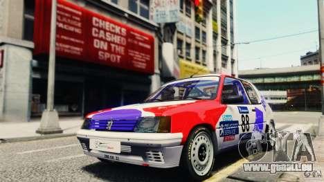 Peugeot 205 Rally pour GTA 4