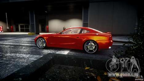 Ferrari 612 Scaglietti custom pour GTA 4 vue de dessus