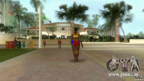 Big Lady Cop Mod 2 GTA Vice City pour la deuxième capture d'écran