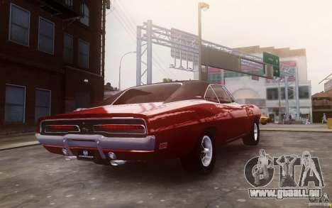 Dodge Charger 440 1969 pour GTA 4 est un droit
