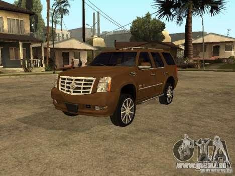 Cadillac Escalade pour GTA San Andreas