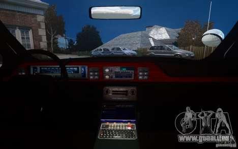 Chevrolet Caprice 1991 Police für GTA 4 Innen