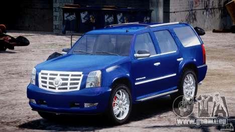 Cadillac Escalade [Beta] pour GTA 4