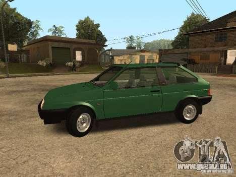 VAZ 2108 Drain pour GTA San Andreas laissé vue