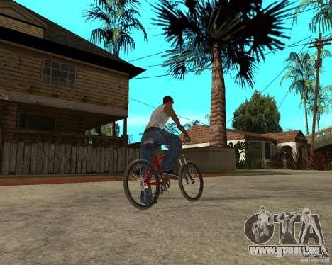 Kona Cowan 2005 pour GTA San Andreas sur la vue arrière gauche