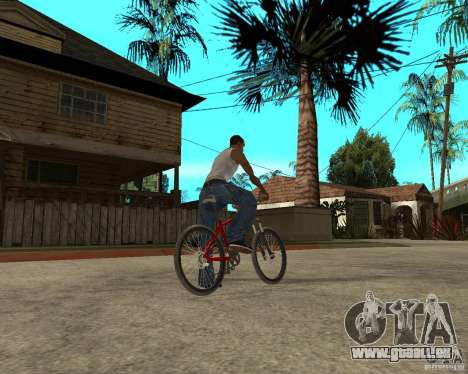 Kona Cowan 2005 für GTA San Andreas zurück linke Ansicht