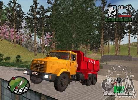 Camion KrAZ 65055 pour GTA San Andreas