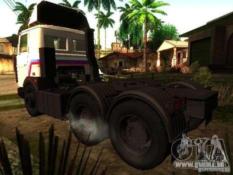 MAZ 642205 v1.0 pour GTA San Andreas laissé vue