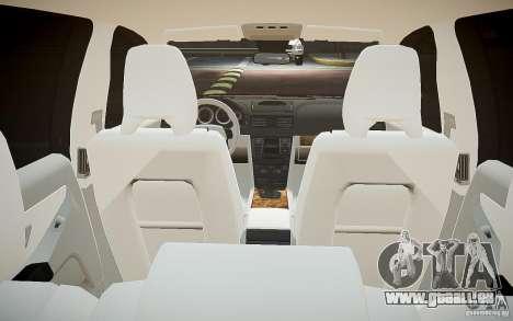 Volvo XC 90 pour GTA 4 est une vue de dessous