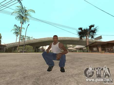 Awesome .IFP V3 für GTA San Andreas zweiten Screenshot