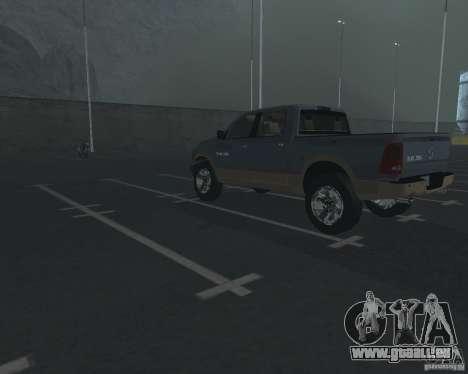 Dodge Ram Hemi pour GTA San Andreas sur la vue arrière gauche