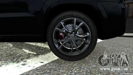 Jeep Grand Cherokee STR8 2012 für GTA 4 Rückansicht
