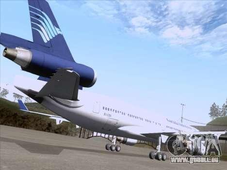 McDonnell Douglas MD-11 Garuda Indonesia pour GTA San Andreas vue de côté