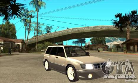 Subaru Forester 1997 année pour GTA San Andreas vue arrière