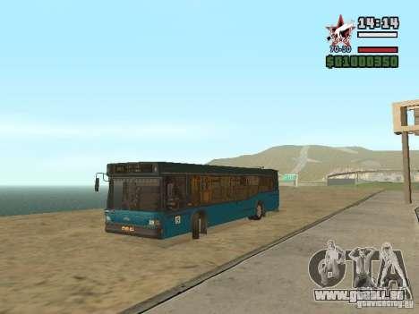 MAZ-103 s für GTA San Andreas zurück linke Ansicht