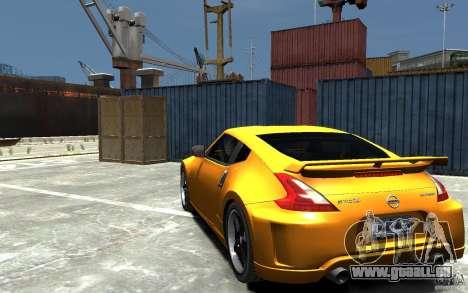 Nissan 370z Tuned Final für GTA 4 hinten links Ansicht