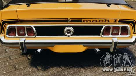 Ford Mustang Mach 1 1973 pour GTA 4