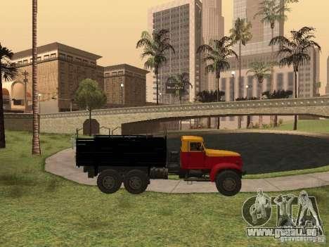 YAZ 214 pour GTA San Andreas vue intérieure