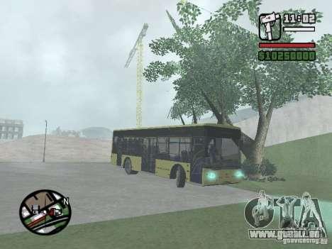 LAZ présenté (SitiLAZ 10) pour GTA San Andreas vue de droite