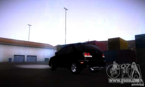 Lexus RX300 für GTA San Andreas linke Ansicht