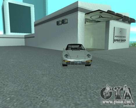 PORSHE 959 für GTA San Andreas rechten Ansicht