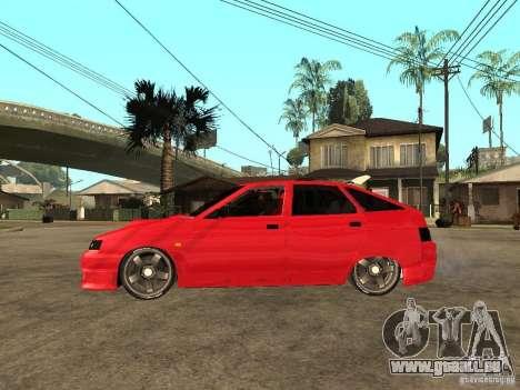 Lada 2112 GTS Sprut pour GTA San Andreas laissé vue
