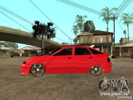 Lada 2112 GTS Sprut für GTA San Andreas linke Ansicht