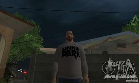 Beta v0.1 pull Linkin Park pour GTA San Andreas